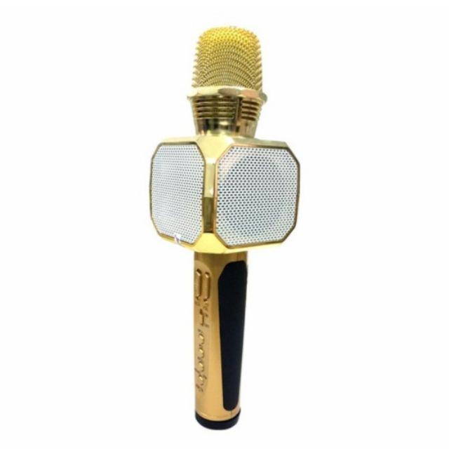 Micro kiêm loa Bluetooth karaoke SD-10 bảo hành 6 tháng