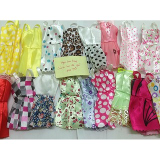 Combo 3 hoặc 6 áo đầm búp bê