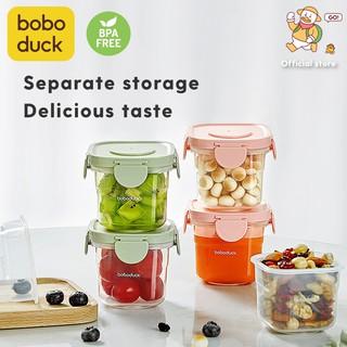 Boboduck đứa bé Cốc trữ sữa và thức ăn Cốc bổ sung thực phẩm Hộp thức ăn thumbnail