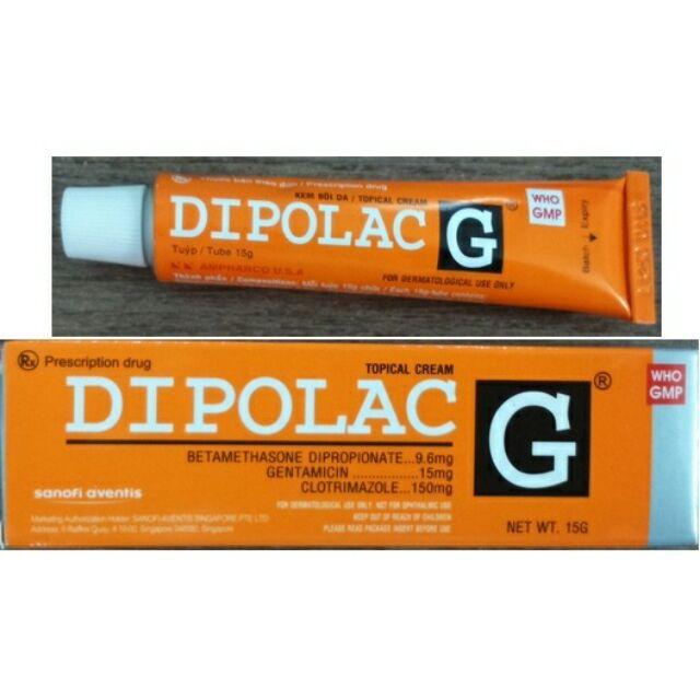 Kem bôi DIPOLAC G 15g - 2979887 , 671781991 , 322_671781991 , 17000 , Kem-boi-DIPOLAC-G-15g-322_671781991 , shopee.vn , Kem bôi DIPOLAC G 15g