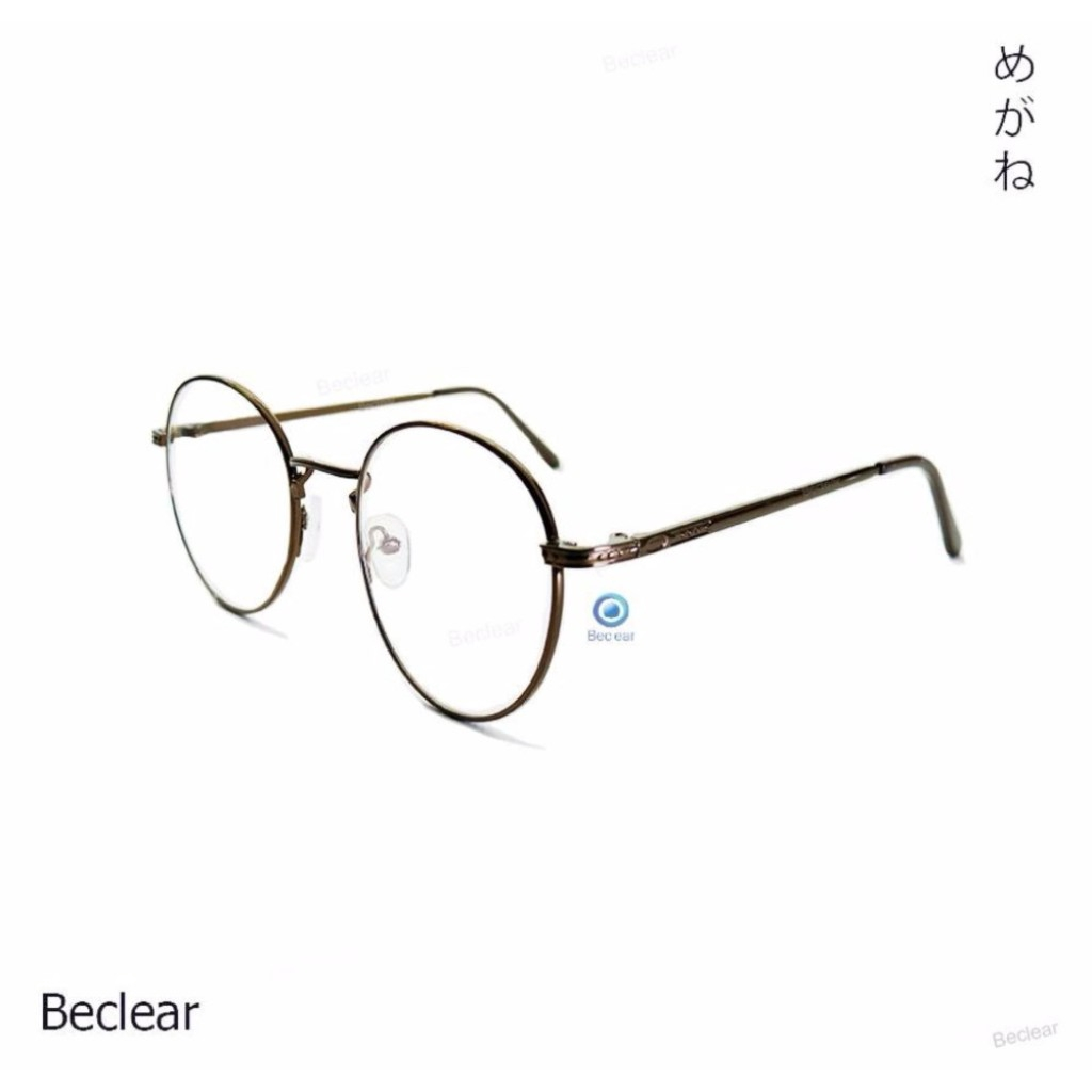 Be clear แว่นสายตาสั้น ทรงหยดน้ำ ค่าสายตา -350 สีน้ำตาลe clear แว่นสายตาสั้น ทรงหยดน้ำ ค่าสายตา -350 สีน้ำตาล