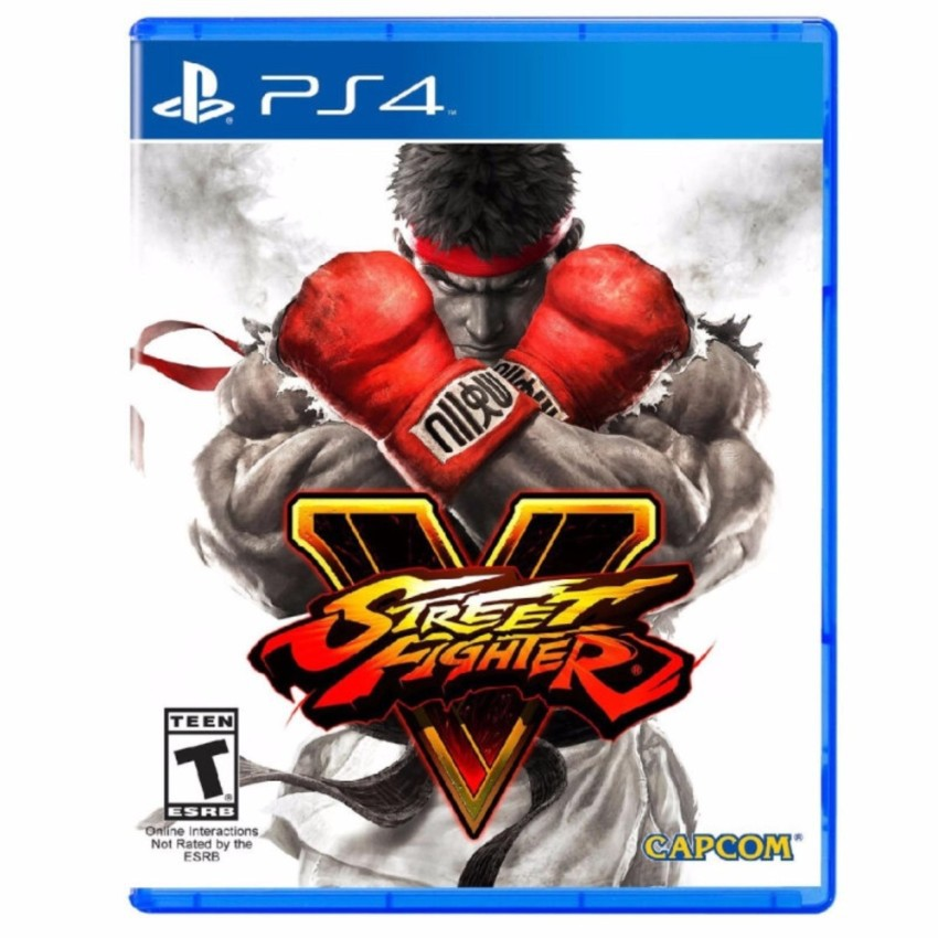 Đĩa Game Ps4 :Street fighter V