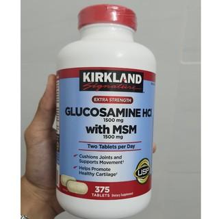 Glucosamin kirkland chai 375v của Mỹ