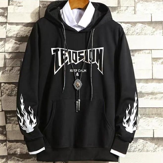 Áo hoodie trùm đầu in hình họa tiết Bảo Đăng