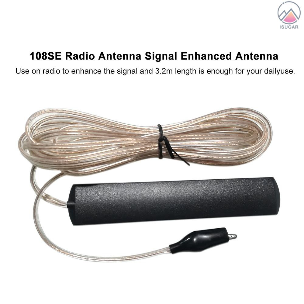 108SE Radio Antenna Radio Enhance Signal Radio Antenna 3.2-Meter Length