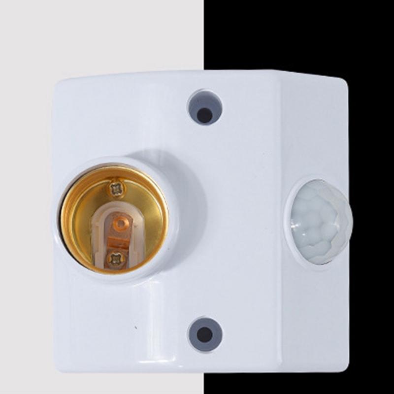Đèn Cảm Biến Hồng Ngoại E27 Gắn Trần Nhà