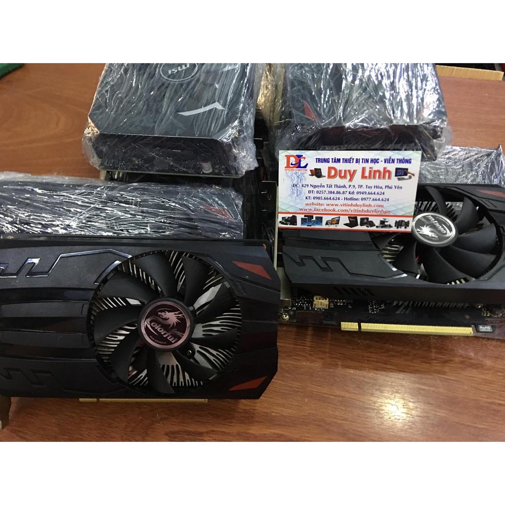 Vga GTX 1050ti 4G Colorful còn bảo hành đến 09/2021