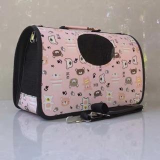 [Hàng Xuất Khẩu Châu Âu] Túi vận chuyển chó mèo hình Gấu thumbnail