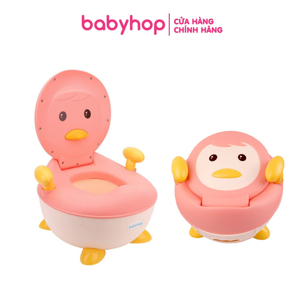 Bô vệ sinh trẻ em chim cánh cụt babyhop