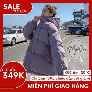 Áo Khoác Phao Béo 5 MÀU [ hàng sẵn] ⚡️HÀNG SIÊU SALE ⚡️ áo khoác đại hàn cho nữ dáng rộng