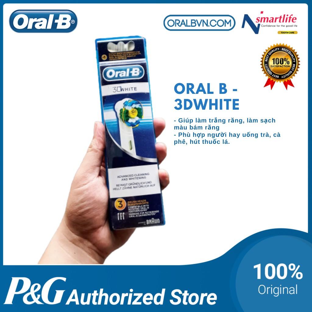 [CHÍNH HÃNG] Đầu bàn chải đánh răng điện Oral B thay thế phù hợp mọi loại bàn chải của Oral-B