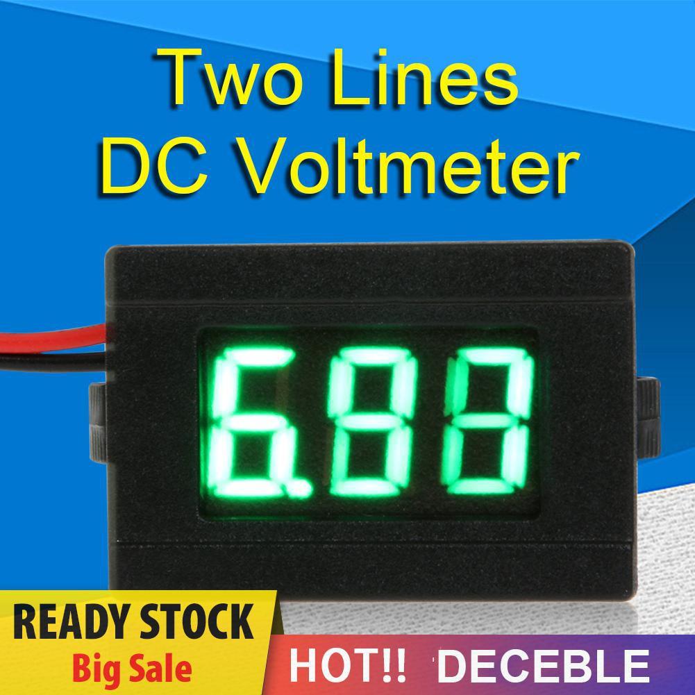 Vôn Kế Kỹ Thuật Số Có Đèn Led 0.36inch Dc 4.5-30v
