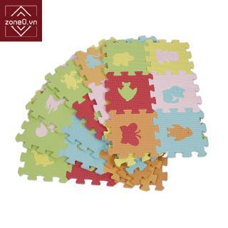 Non-slip Soft Eva Foam Game Mats Children DIY Puzzle 36PCS Animal Models