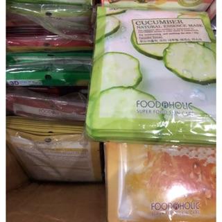 COMBO 10 miếng Mặt nạ 3D Foodaholic chính hãng Hàn quốc thumbnail