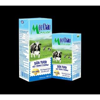 Sữa tươi Mộc Châu Milk ít đường 110ml ( thùng 48 hộp)