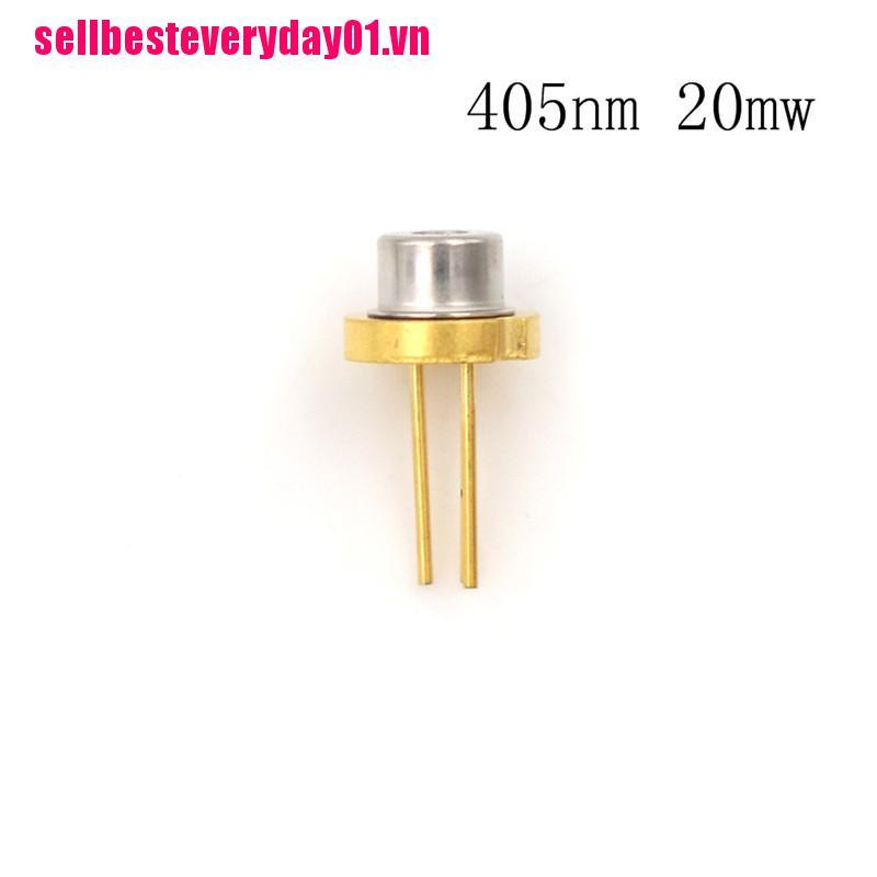 【sellbesteveryday01.vn】SLD3134VL 20mw 405nm 5.6mm Purple Blue Laser Diode TO-18 LD w PD