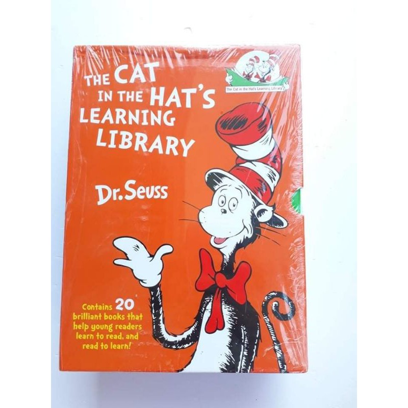 Dr. Seuss. The Cat innthe Hat's learning library. fullbox