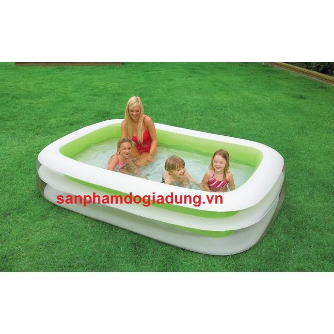 Bể bơi gia đình vuông 262x175x56 Intex 56483