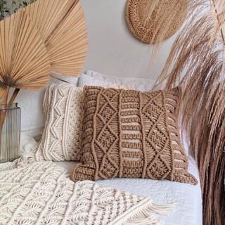 Gối Macrame – Decor phòng khách, phòng ngủ