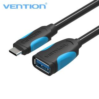 [Mã ELFLASH5 giảm 20K đơn 50K] Type C - Cáp chuyển đổi USB 3.0 sang Type-C OTG dài 25cm Vention