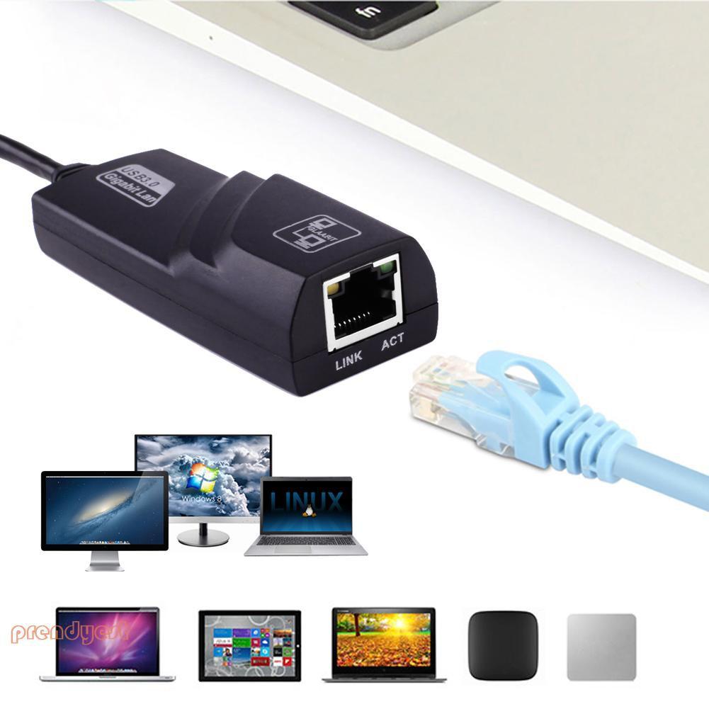 Cáp chuyển đổi USB 3.0 sang 10 / 100 / 1000 Gigabit RJ45 Ethernet LAN