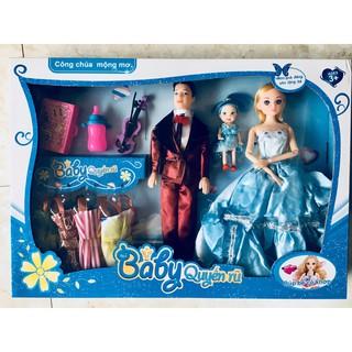 Bộ Búp Bê Gia Đình Công chúa mộng mơ, Baby quyến rũ