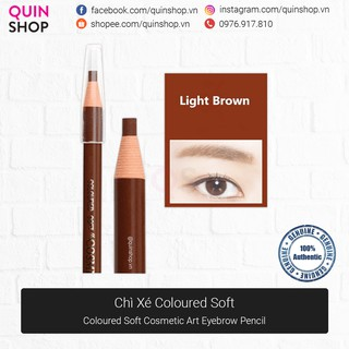 Chì Xé Kẻ Chân Mày Coloured Soft Cosmetic Art Eyebrow Pencil