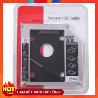 phụ kiện Caddy Bay SATA 3.0 9.5mm Mỏng gắn thêm ổ cứng cho Laptop
