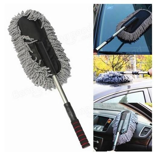 [HCM] Chổi lau rửa oto (xe hơi)  đa năng Điều chỉnh được độ dài