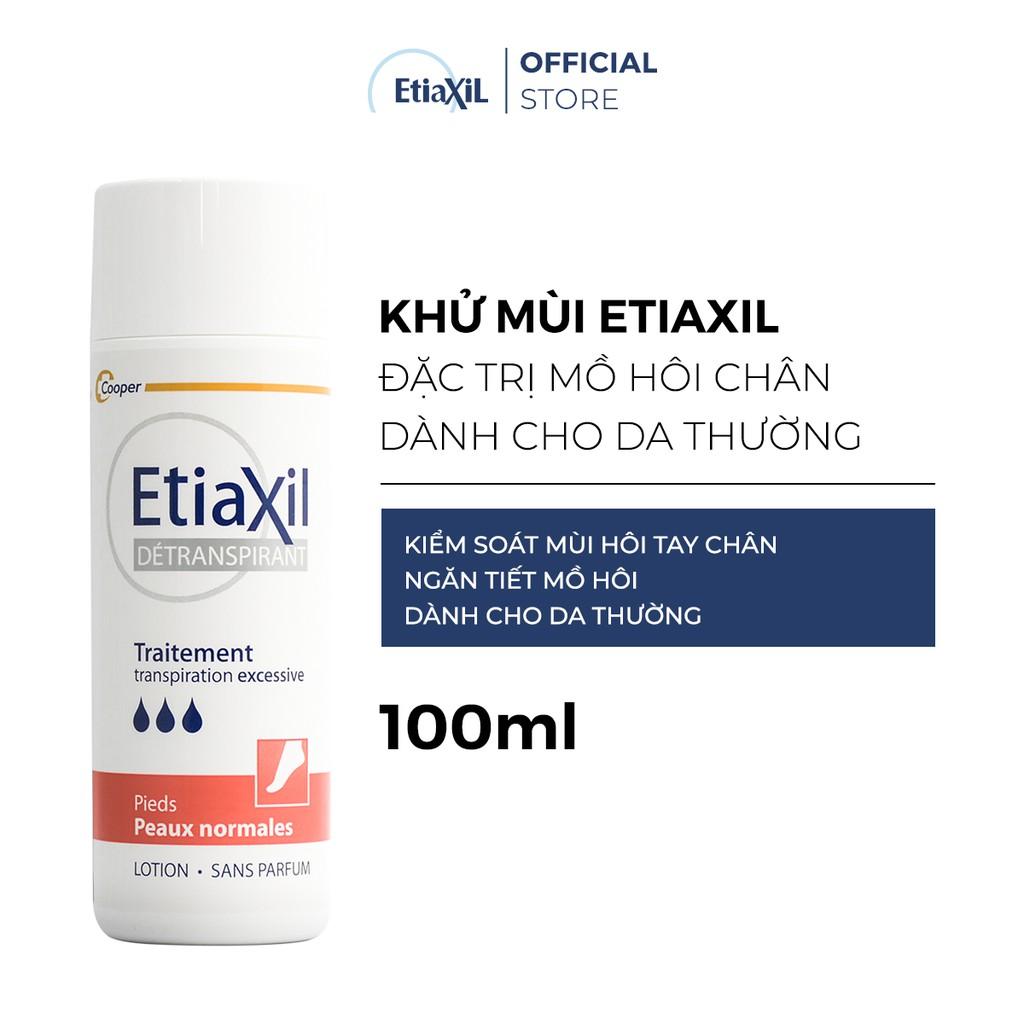 Khử mùi Etiaxil đặc trị mồ hôi chân dành cho da thường 100ML | Shopee Việt  Nam