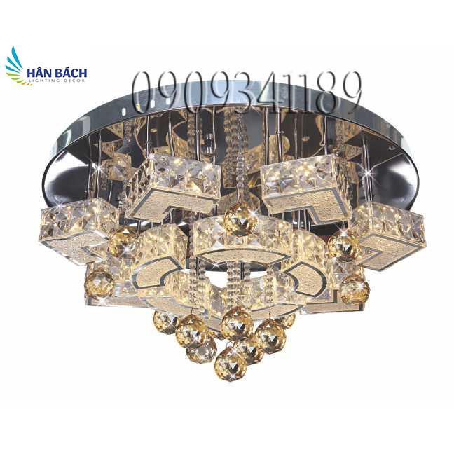 ĐÈN ỐP TRẦN LED TRÒN (PHI 500mm x H300mm)