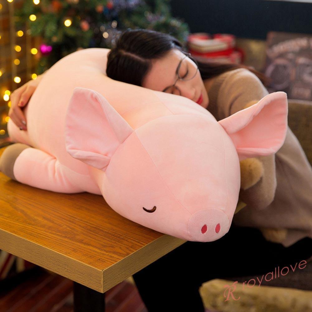 Soft Large Simulation Pig Toy Stuffed Animals Dolls Children Birthday Gift