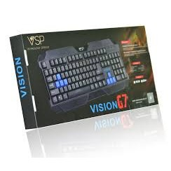 Bàn phím chuyên game Vision G7 chính hãng