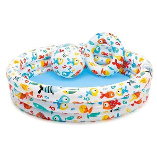 Bể bơi 3 món cho bé hồ bơi 135 x 30cm