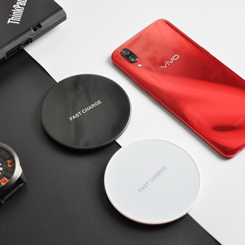 Mini Ultra-thin KD99 Round Charging Wireless Charger QI Mobile Phone