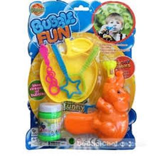 Vỉ đồ chơi thổi bong bóng xà phòng hình chú voi