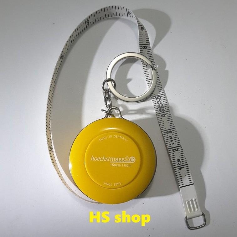 Thước dây móc chìa khóa HoechstMass của Đức 150cm (Vàng) nút bấm tự thu dây -Nhỏ gọn, tiện lợi, bền, đẹp -NPP HS shop - 14303540 , 883544822 , 322_883544822 , 73000 , Thuoc-day-moc-chia-khoa-HoechstMass-cua-Duc-150cm-Vang-nut-bam-tu-thu-day-Nho-gon-tien-loi-ben-dep-NPP-HS-shop-322_883544822 , shopee.vn , Thước dây móc chìa khóa HoechstMass của Đức 150cm (Vàng) nút bấm