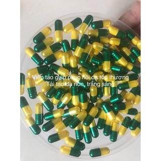viên vitamin chuyên cấy trắng ( giá sĩ 100 viên)