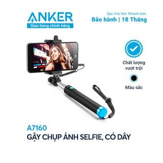 Gậy chụp ảnh tự sướng có dây ANKER Selfie Stick Wired - A7160 thumbnail