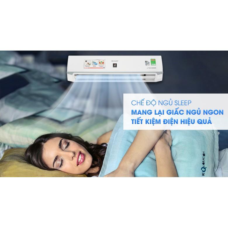 Máy lạnh Sharp Inverter 2 HP AH-XP18WMW (Miễn phí giao tại HCM-ngoài tỉnh liên hệ shop)