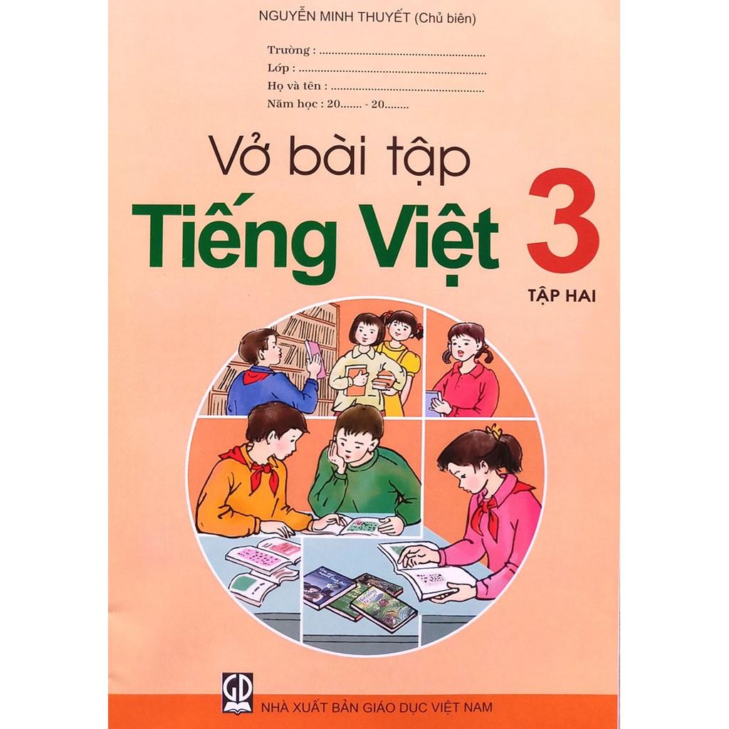 Sách - vở bài tập Tiếng việt 3 - tập hai