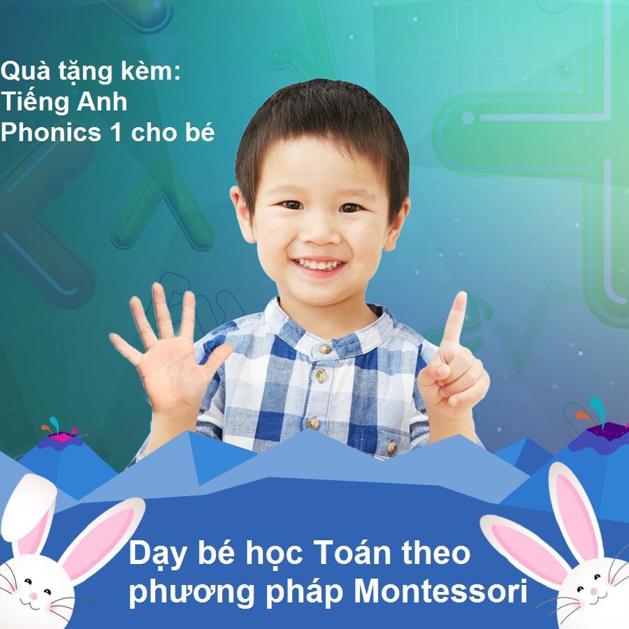 [Voucher - Khóa học Online] Dạy bé học Toán theo phương pháp Montessori [Toàn Quốc]