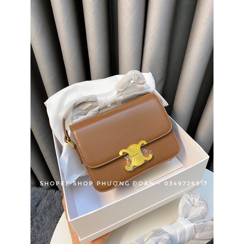 [CLINE FULL BOX] Túi cline khoá đồng size 20cm nhiều ngăn