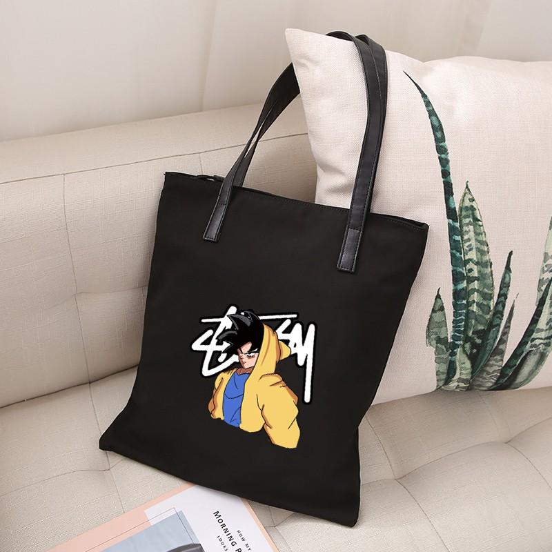 กระเป๋าสะพายไหล่พิมพ์ลาย dragon ball anime
