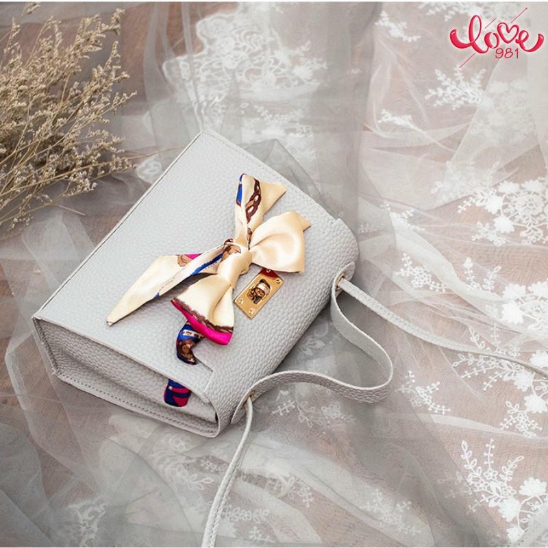 Túi xách trang trí nơ phong cách Âu Mỹ thời trang cho nữ