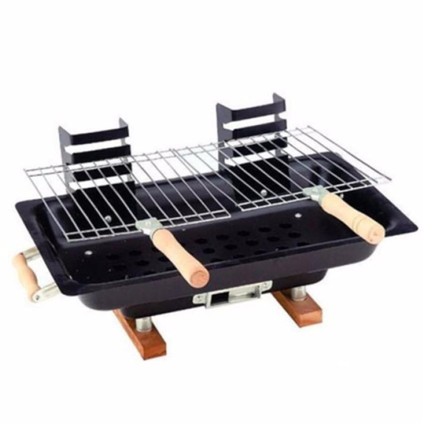 Bếp than nướng All Steel Hibachi (Đen)