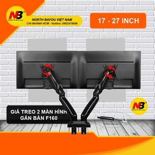 Giá treo / giá đỡ màn hình kép NB F160 17-27 inch