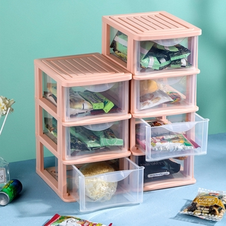 Home Home Drawer Storage Box Transparent Student Dormitory Desktop Cosmetic Shelf Skin Care Product Organizing Artifact