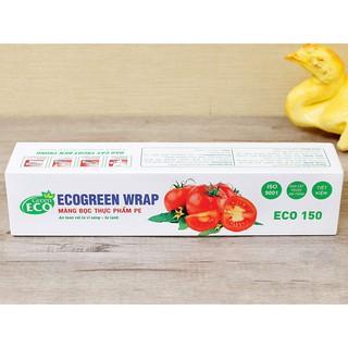 Màng bọc thực phẩm PE Green Eco 30cm x 100m (bao bì tùy theo đợt nhập hàng) BC59