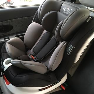 Ghế ô tô điều chỉnh 4 tư thế từ nằm tới ngồi, xoay 360° và có thể điều chỉnh độ cao cho bé từ 0-12 tuổi